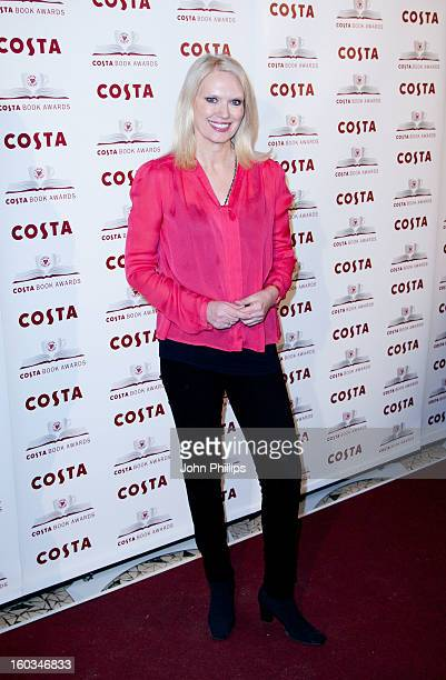 Anneka Rice attends the Costa Book of the Year awards at Quaglino's on January 29 2013 in London England