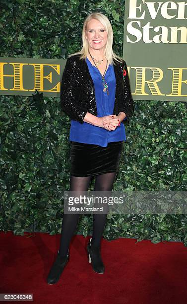Anneka Rice attends The London Evening Standard Theatre Awards at The Old Vic Theatre on November 13 2016 in London England