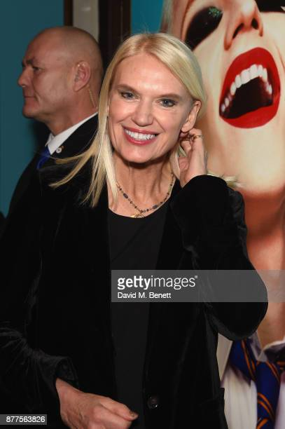 Anneka Rice attends the opening night of Everybody's Talking About Jamie a new musical for today at The Apollo Theatre on November 22 2017 in London...