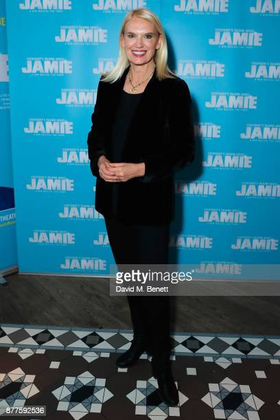 Anneka Rice attends the opening night of Everybody's Talking About Jamie a new musical for today at 100 Wardour St on November 22 2017 in London...