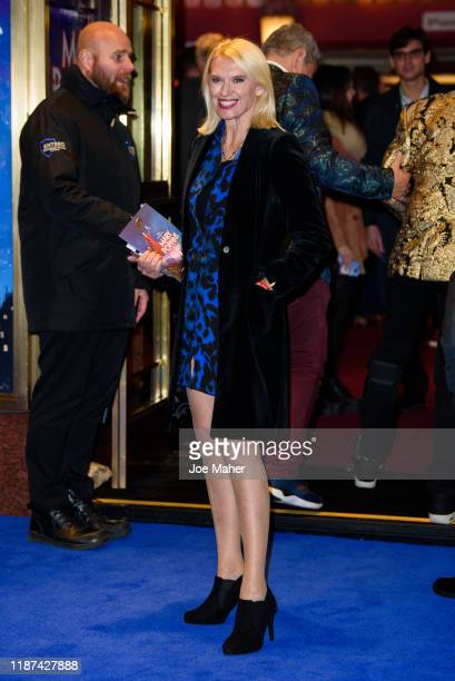 Anneka Rice attends the opening night performance of Mary Poppins at Prince Edward Theatre on November 13 2019 in London England