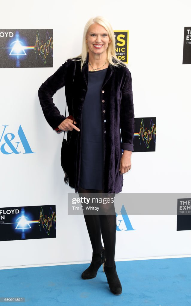 Anneka Rice attends the Pink Floyd Exhibition: Their Mortal Remains at the V&A on May 9, 2017 in London, England.