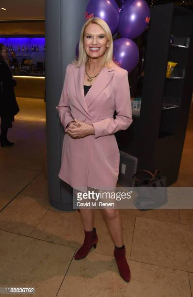 Anneka Rice attends the press night performance of Matthew Bourne's The Red Shoes at Sadler's Wells Theatre on December 15 2019 in London England