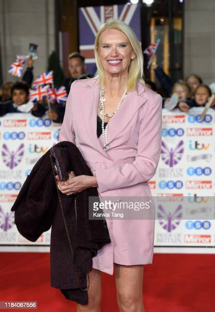 Anneka Rice attends the Pride Of Britain Awards 2019 at The Grosvenor House Hotel on October 28 2019 in London England