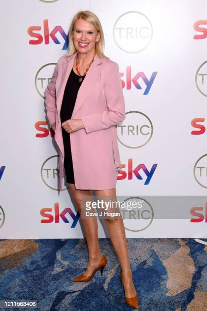 Anneka Rice attends the TRIC Awards 2020 at The Grosvenor House Hotel on March 10 2020 in London England
