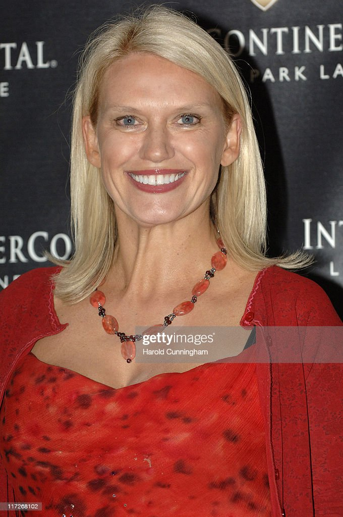 Anneka Rice during InterContinental London Park Lane Re-launch Gala - Inside Arrivals at InterContinental Hotel in London, Great Britain.