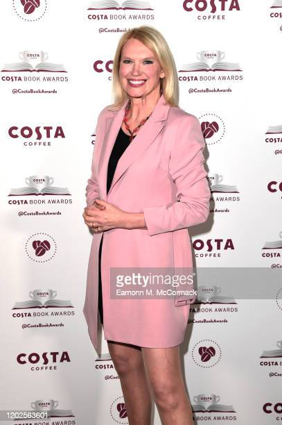 Anneka Rice pictured tonight at the Costa Book Awards at Quaglino's on January 28 2020 in London England