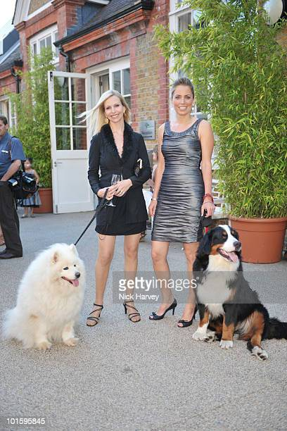 Anneka Svenska and Jasmine Harman attend the Dogs Trust Honours Awards at Jasmine Studios on June 3 2010 in London England