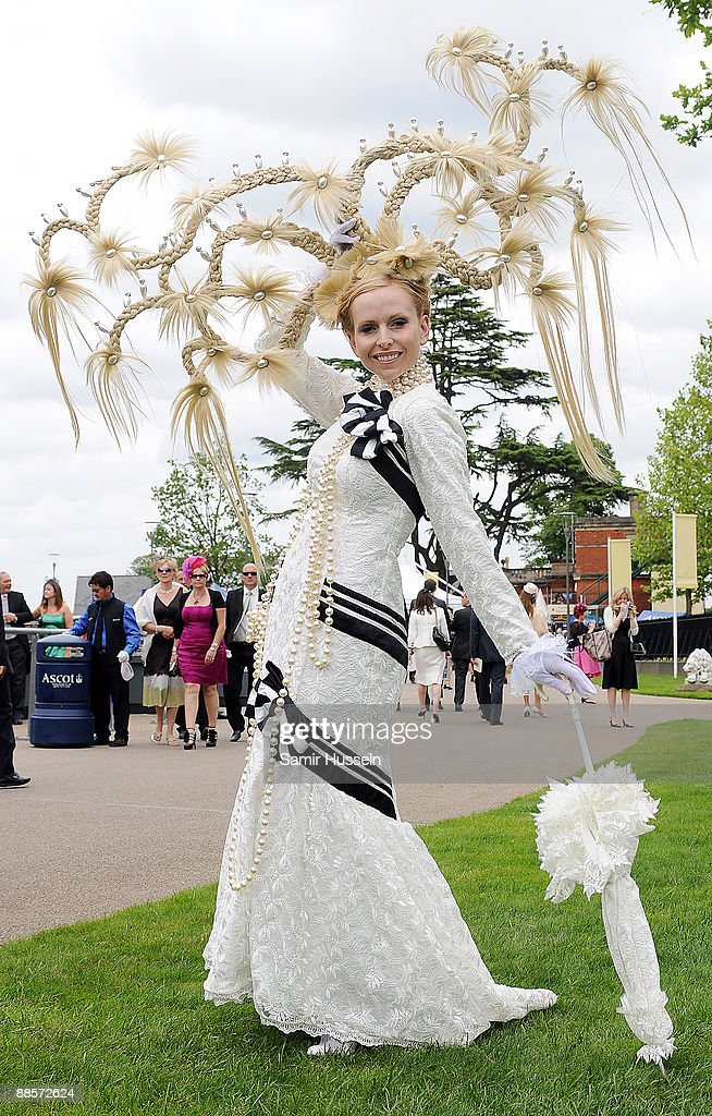 Anneka Svenska attends Ladies Day of Royal Ascot at Ascot Racecourse on June 18, 2009 in Ascot, England.