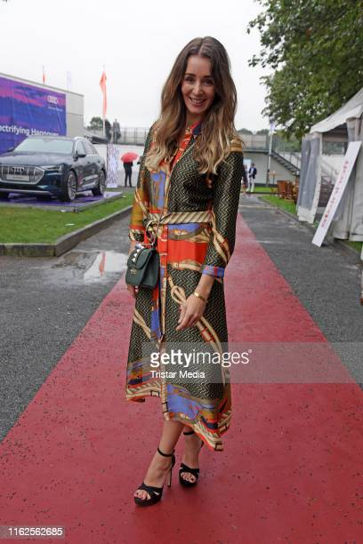 AnneKathrin Ertl attends the Audi Ascot Race Day at Neue Bult horse racing track on August 18 2019 in Langenhagen Germany
