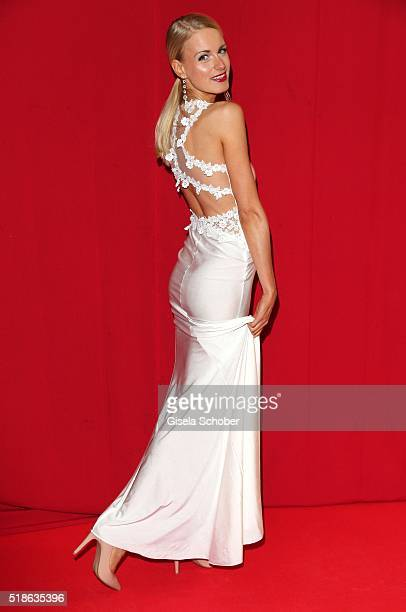 AnneKathrin Kosch during the 7th 'Filmball Vienna' at City Hall on April 1 2016 in Vienna Austria