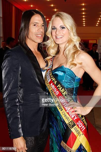 AnneKathrin Kosch Jorge Gonzalez 6 GalaVerleihung 'Lea Award' 2011 als Auftakt zur 'Musikmesse' Festhalle Frankfurt Hessen Deutschland Europa Schrpe...