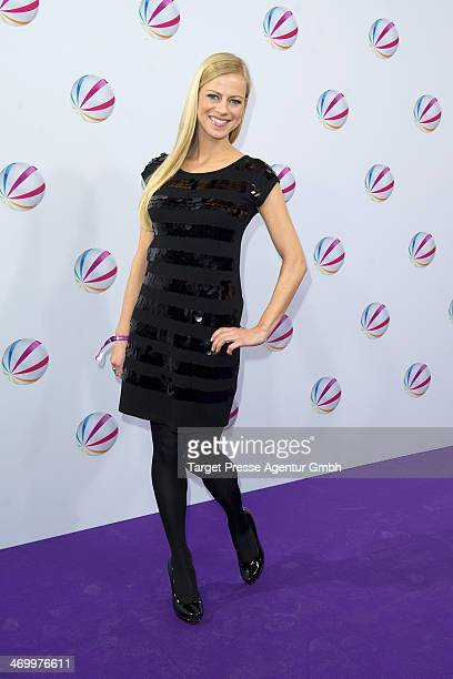 Anneke Duerkopp attends the 'Der Ruecktritt' photocall at Kino International on February 17 2014 in Berlin Germany