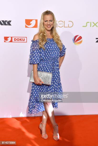 Anneke Duerkopp attends the program presentation of the television channel ProSiebenSat1 on July 13 2017 in Hamburg Germany