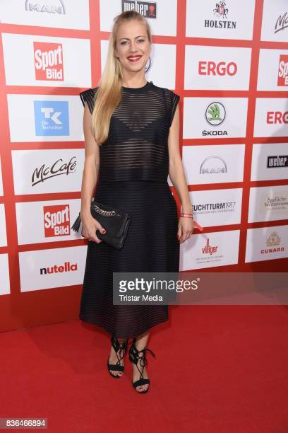 Anneke Duerkopp attends the Sport Bild Award on August 21 2017 in Hamburg Germany