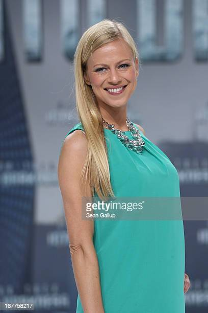 Anneke Duerkopp attends the 'Star Trek Into Darkness' Premiere at CineStar on April 29 2013 in Berlin Germany