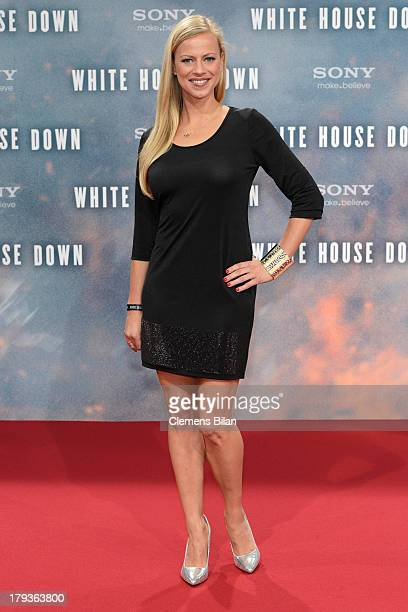Anneke Duerkopp the 'White House Down' Germany premiere at CineStar on September 2 2013 in Berlin Germany