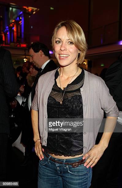 Anneke Kim Sarnau attends the 'ARD Advent Dinner' on December 4 2009 in Munich Germany
