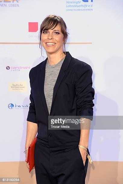 Anneke Kim Sarnau attends the Deutscher Radiopreis 2016 on October 6 2016 in Hamburg Germany