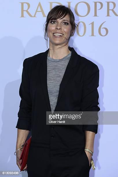 Anneke Kim Sarnau attends the Deutscher Radiopreis at Schuppen 52 on October 6 2016 in Hamburg Germany