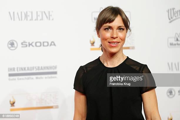 Anneke Kim Sarnau attends the Goldene Henne on October 28 2016 in Leipzig Germany