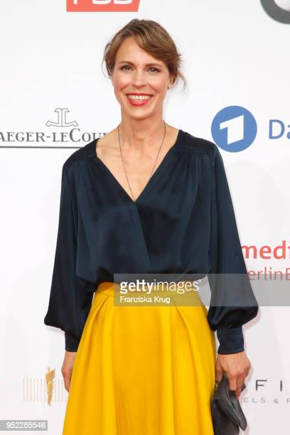 Anneke Kim Sarnau attends the Lola German Film Award red carpet at Messe Berlin on April 27 2018 in Berlin Germany