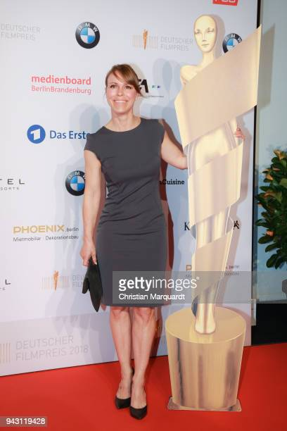 Anneke Kim Sarnau attends the nominee dinner for the German Film Award 2018 Lola at BMW Niederlassung Berlin on April 7 2018 in Berlin Germany
