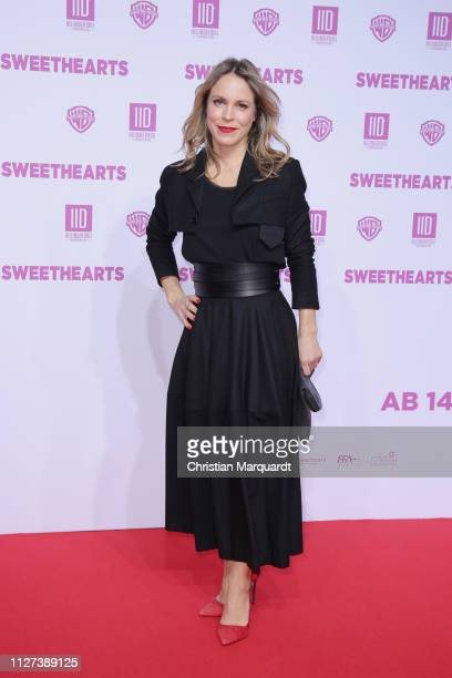 Anneke Kim Sarnau attends the premiere of the film 'Sweethearts' at Zoo Palast on February 04 2019 in Berlin Germany