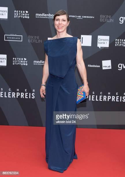 Anneke Kim Sarnau beim Deutschen Schauspielerpreis 2016 im Zoo Palast Berlin am