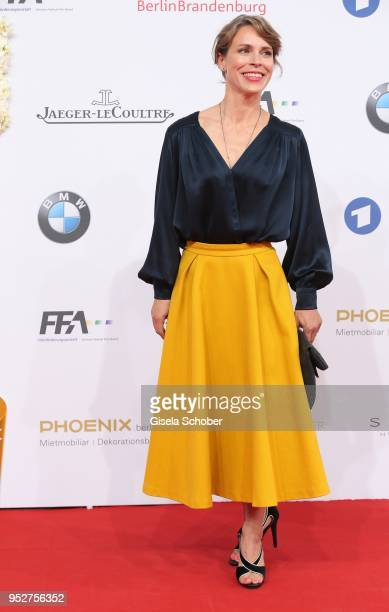 Anneke Kim Sarnau during the Lola German Film Award red carpet at Messe Berlin on April 27 2018 in Berlin Germany