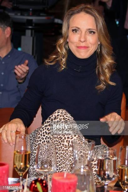 Anneke Kim Sarnau during the NDR Talk Show on December 13 2019 in Hamburg Germany