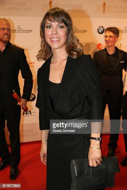 Anneke Kim Sarnau wearing a watch by JaegerLeCoultre during the Lola German Film Award 2017 at Palais am Funkturm on April 28 2017 in Berlin Germany