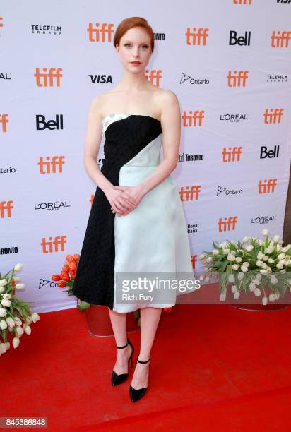 Anneke Sluiters attends the 'Tulipani Love Honour and a Bicycle' premiere during the 2017 Toronto International Film Festival at Ryerson Theatre on...