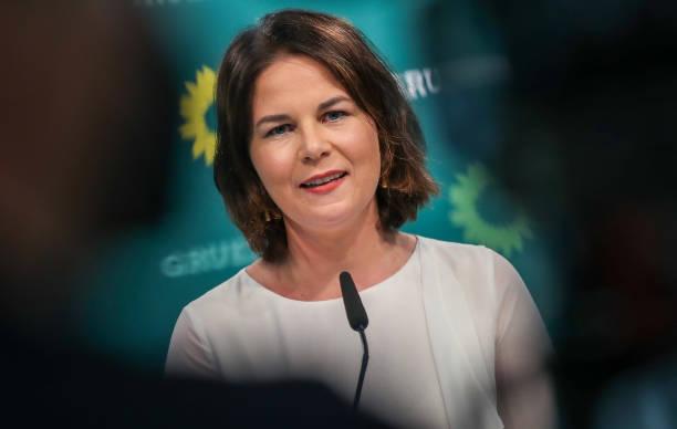 DEU: Annalena Baerbock Holds Press Conference Following Greens Party Leadership Meeting