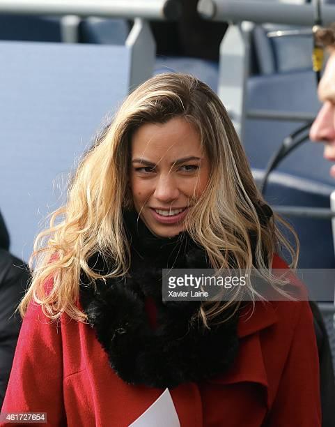 AnneLaure Bonnet attends the French Ligue 1 between Paris SaintGermain FC Evian Thonon Gaillard FC at Parc Des Princes on January 18 2015 in Paris...