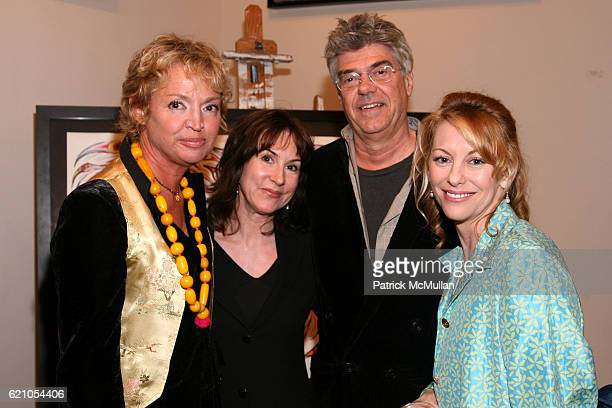 AnneLaure Lyon Christine Hachi John Head and MichaelAnn Rowe attend JANE GANG 'Cash Only' jewelry launch hosted by Josh Briggs at May 20 on May 20...