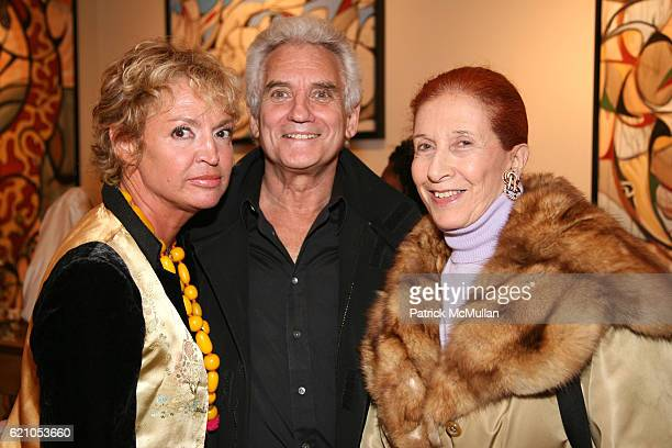 AnneLaure Lyon Dr Howard Shapiro and Princess Marina Pianatelli attend JANE GANG 'Cash Only' jewelry launch hosted by Josh Briggs at May 20 on May 20...