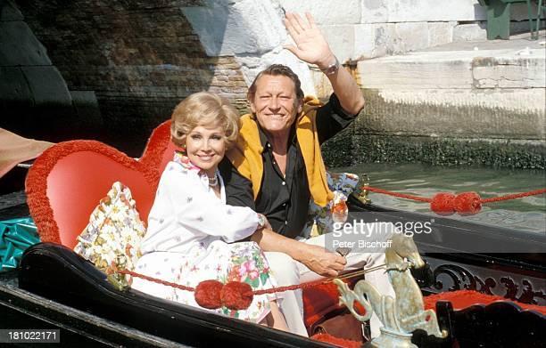 """Anneliese Rothenberger, Ehemann Gerd W. Dieberitz, Urlaub, ZDF-Show: """"Anneliese Rothenberger gibt sich die Ehre"""", Venedig/Italien/Europa, , Sängerin,..."""