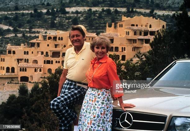 Anneliese Rothenberger Ehemann Gerd WDieberitz Altea/Spanien UrlaubFerienhaus Ferienvilla Auto
