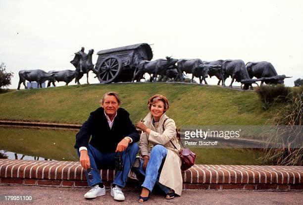 Anneliese Rothenberger mit Ehemann Gerd WDieberitz Budapest/Ungarn