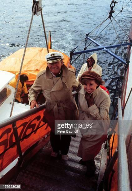 Anneliese Rothenberger mit Ehemann Gerd WDieberitzMS Europa Kreuzfahrt