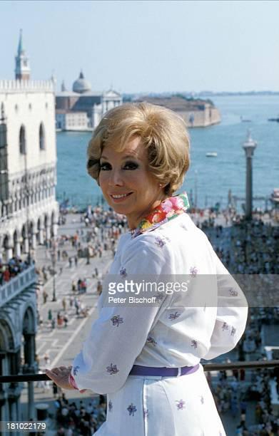 Anneliese Rothenberger gibt sich die Ehre Venedig/Italien/Europa Sängerin Meer Mittelmeer Promis Prominente Prominenter