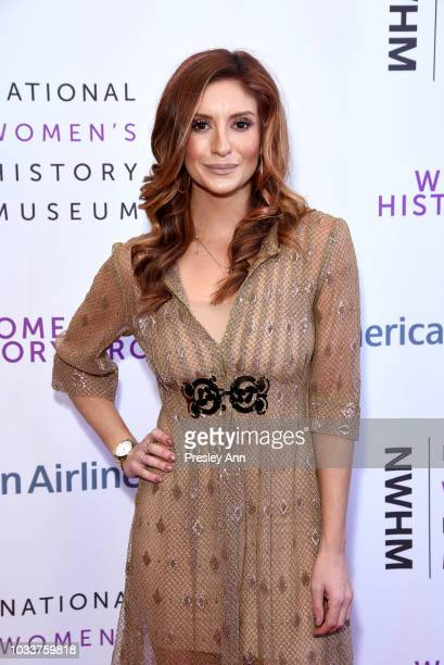 Anneliese van der Pol attends National Women's History Museum's 7th Annual Women Making History Awards at The Beverly Hilton Hotel on September 15...