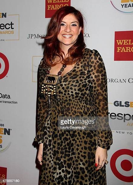 Anneliese van der Pol attends the 2015 GLSEN Respect Awards at Cipriani 42nd Street on June 1 2015 in New York City