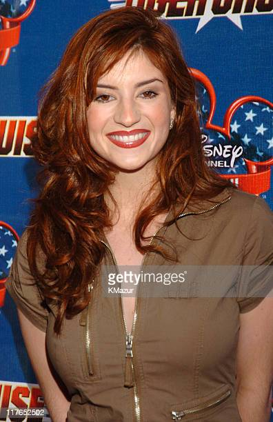 Anneliese van der Pol during the New York Premiere of 'Tiger Cruise' at the Intrepid SeaAirSpace Museum on August 3 2004 'Tiger Cruise' premieres...