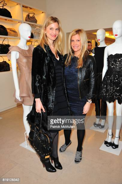 Annelise Peterson and Lesley Schulhof attend VALENTINO Spring/ Summer 2010 Collection Private Luncheon and Presentation hosted by Samantha Boardman...