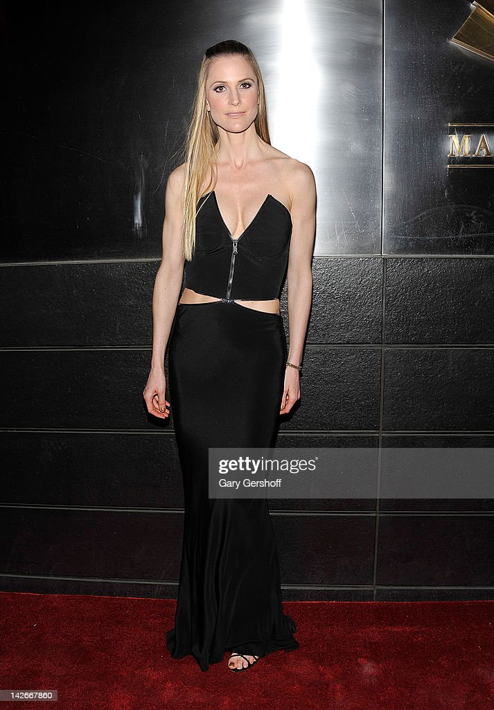 Annelise Peterson attends the 9th annual Spring Dinner Dance New Year's In April: A Fool's Fete at the Mandarin Oriental Hotel on April 10, 2012 in New York City.
