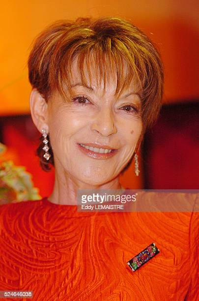 AnnElizabeth de Massy Left at the prestigious charity event The Rose Ball hosted by the Royal Family of Monaco in the Salle des ��toiles of the...