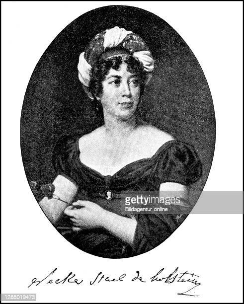 Anne-Louise-Germaine Baroness de Staël-Holstein and Madame de Staël, April 22, 1766 - July 14 was a native of the Republic of Geneva French writer /...