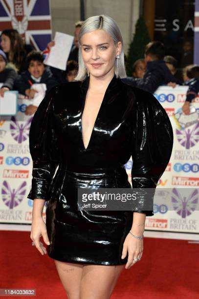 AnneMarie attends Pride Of Britain Awards 2019 at The Grosvenor House Hotel on October 28 2019 in London England